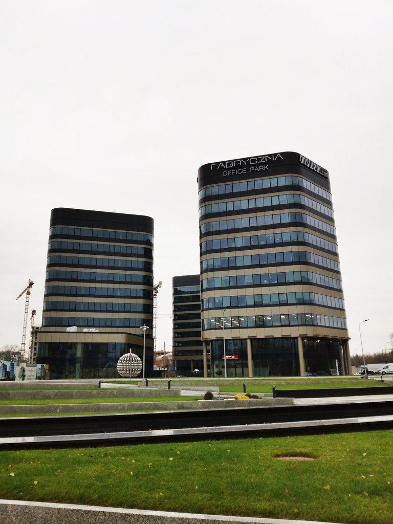 Biura do wynajęcia Kraków Grzegórzki - Fabryczna Office Park B2