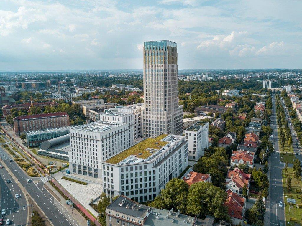 Biura do wynajęcia Kraków Grzegórzki - Unity Centre – Unity Tower