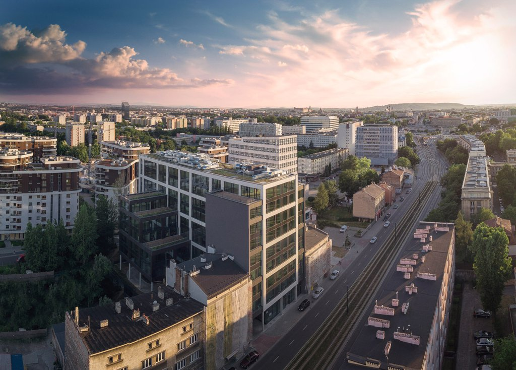 Biura do wynajęcia Kraków Grzegórzki - Mogilska Office