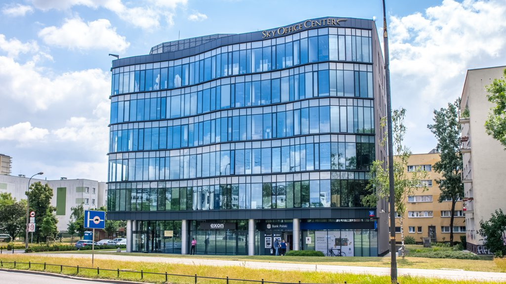 Biura do wynajęcia Warszawa Mokotów - Sky Office Center