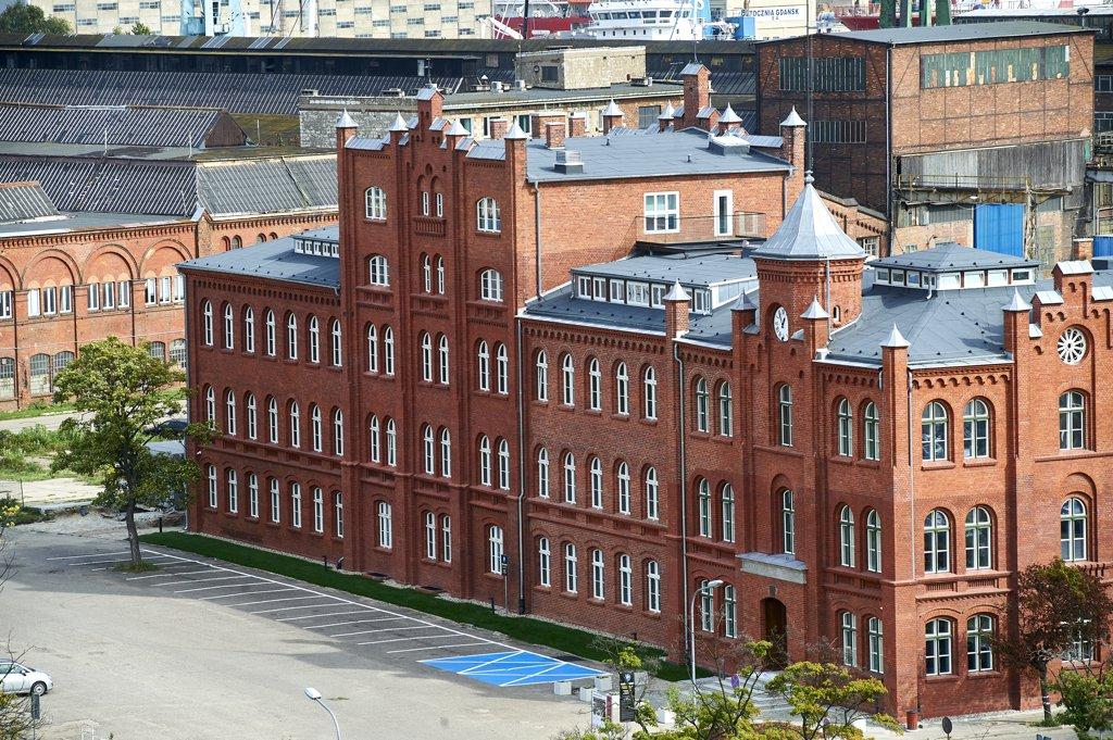 Biura do wynajęcia Gdańsk Młyniska - Stocznia Cesarska – Budynek Dyrekcji