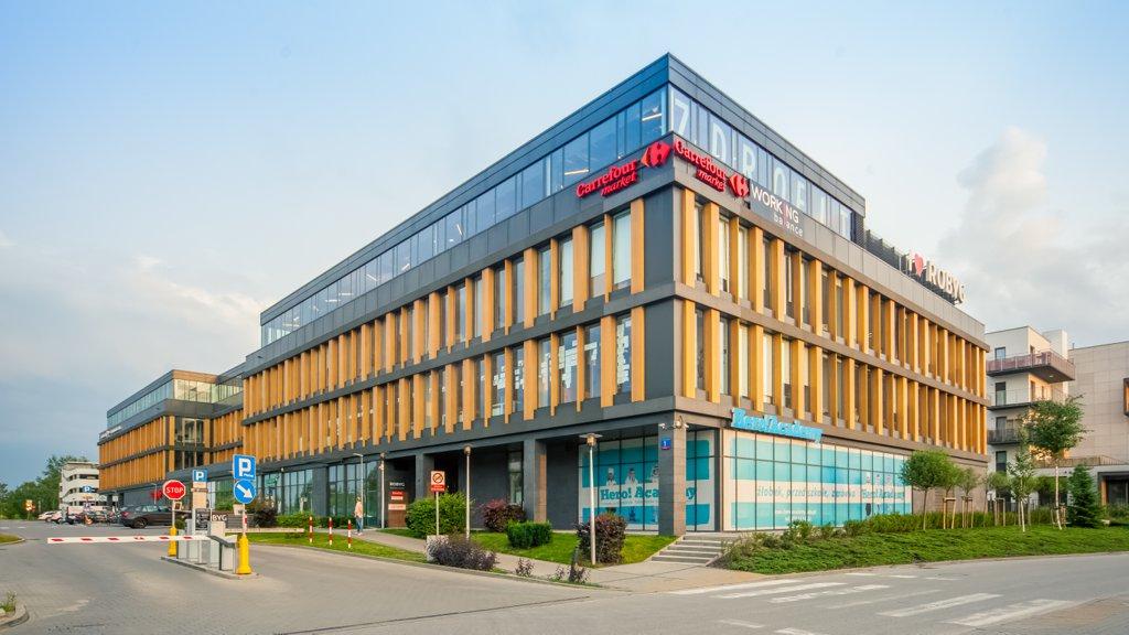 Biura do wynajęcia Warszawa Wilanów - Wilanów Office Center – Robyg Business Center