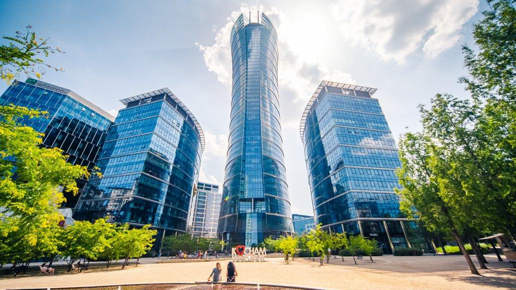 Biura do wynajęcia Warszawa Wola - Warsaw Spire B