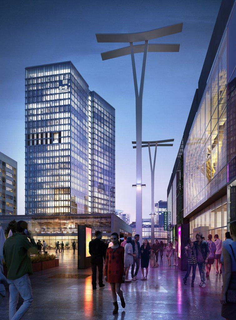 Biura do wynajęcia Warszawa Śródmieście - Widok Towers