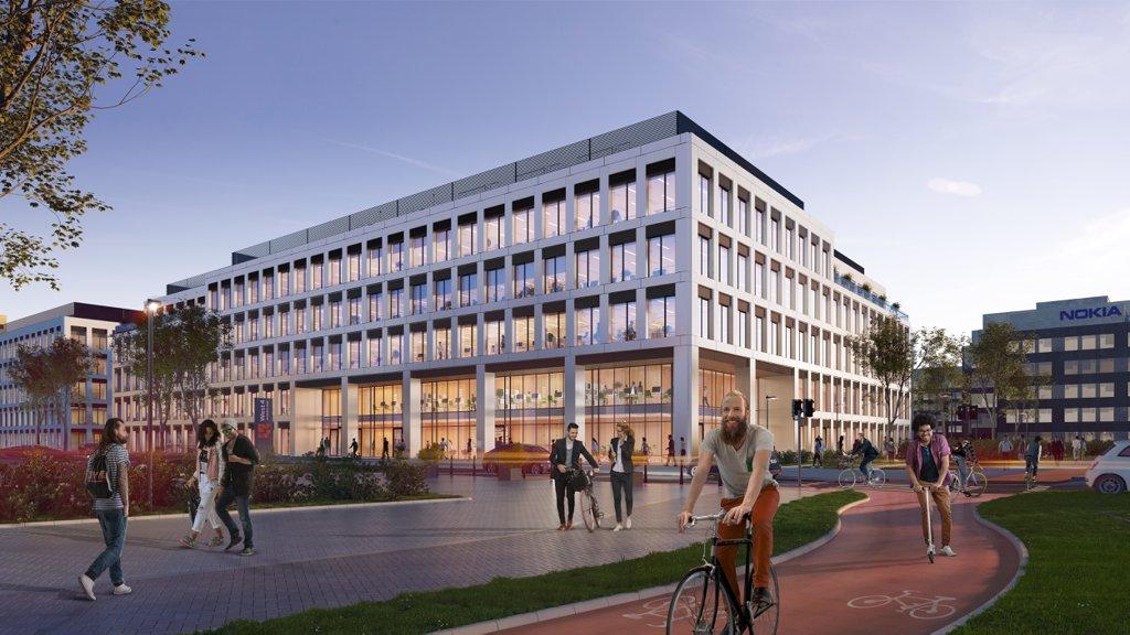 Biura do wynajęcia Wrocław Fabryczna - West 4 Business Hub I